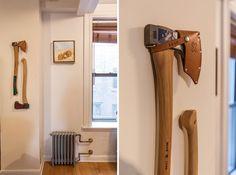 Stylish, Artsy GQ Editor Crafts a Small Soho Walk-Up To Match - House Calls - Curbed NY