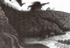 Ill: Øyvind Westgård Illustrations, Drawings, Outdoor, Outdoors, Illustration, Sketches, Outdoor Games, Drawing, The Great Outdoors