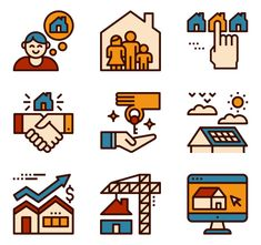 icon packs of building Building Icon, Font Free, Search Icon, Edit Icon, All Icon, Icon Pack, Creative Photos, Icon Font, Gradient Color
