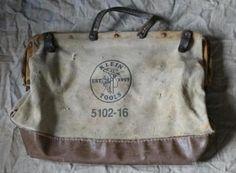 Daniel's old #KleinTools 5102-16 tool bag