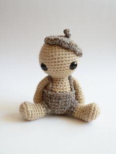 Pablo the cute plush amigurumi doll. by CreepyandCute on Etsy, €24.50