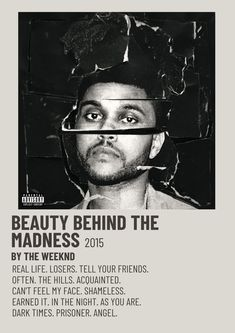 The Weeknd Album Cover, The Weeknd Albums, Music Album Covers, The Weeknd Songs, Poster S, Poster Wall, Poster Prints, Room Posters, The Weeknd Poster