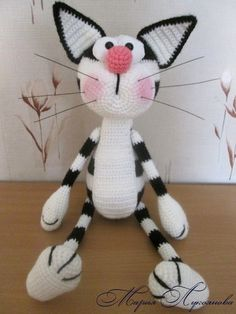 Maria Lukoyanova | VK Crochet Toys Patterns, Amigurumi Patterns, Stuffed Toys Patterns, Doll Patterns, Crochet Amigurumi, Crochet Dolls, Crochet For Boys, Love Crochet, Easter Crochet
