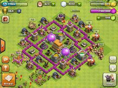 Level 6 Town Hall {Ultimate Clash of Clans Guide} http://ultimateclashofclansguide.com/base-designs/level-6/
