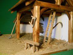 """Crèche de Noël artisanale en bois """"Gabrielle"""" : Accessoires de maison par les-creches-de-st-arnoult"""