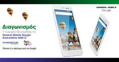 Κερδίστε+ένα+smartphone+General+Mobile+GM5+D+με+Google+AndroidOne+από+την+Conceptum!