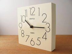 Spartus wall clock