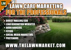 Boost your cliente this up coming spring with professional design marketing material for the Lawn Care Industry. #doorhanger #directmailer #flyers #marketing #lawncare
