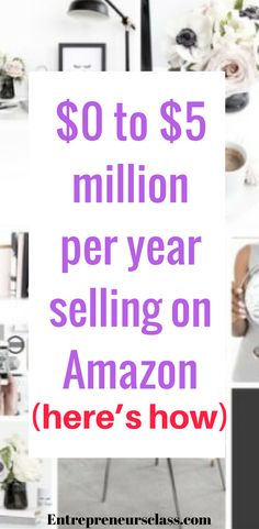 Amazing selling machine- check out how Brandon Clark has built a $5 million per year business with Amazon from home while battling a chronic pain syndrome!. The guys who taught Brandon this business model and top sellers on Amazon have just created a brand new FREE training series on how to build this business!. #amazonfba #ecommercebusiness #ecommercetips #dropshipping #amazonseller