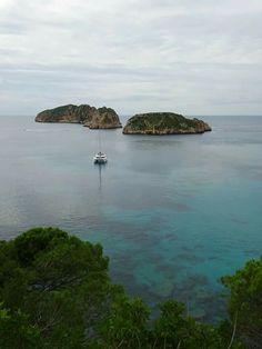 Islas Malgrats, Santa Ponça, off Mallorca-->shipwreck dive and snorkeling