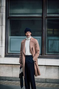 """[b](New entry)[/b] One of fashion's most recognisable faces, [link url=""""http://www.gq-magazine.co.uk/article/how-to-look-after-your-beard""""]Richard Biedul[/link] proves you can grow older without sacrificing your sense of style. And he always looks good in hats."""