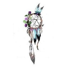 I want a dream catcher tattoo!! Love how vintage garden like this is
