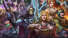 Masters of the Universe Premium Art Print from Sideshow Collectibles