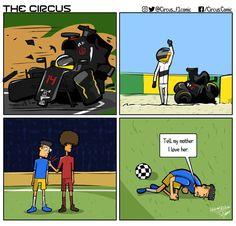 The post vs Soccer Car Jokes, Car Humor, Formula 1 Car Racing, Soccer Post, Funny Images, Funny Pictures, Sports Memes, Formula One, Fast Cars