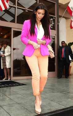 Bright and Colorful ~ Great website. It tells u where u can buy some of ur fav Celeb Outfits