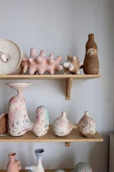 Time Vessels: Meditation on Time Travel and Story Telling — Yuko Nishikawa Slab Pottery, Pottery Vase, Ceramic Pottery, Ceramic Clay, Ceramic Bowls, Sculpture Clay, Ceramic Sculptures, Wheel Thrown Pottery, Handmade Pottery