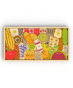 Look at this Alphabites A to Z Block 26-Piece Puzzle on #zulily today!