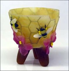 Pate de Verre by Ellen Abbott and Marc Leva - Helios Kiln Glass Studio
