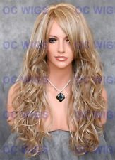 Dark/Ash Blonde Mix Long Wavy Heat Safe Synthetic Wig FT Cala in F14/22