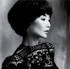 Maggie Cheung in Dolce & Gabbana styled by Lucia Liu, photographed by Feng Hai for Glass Magazine (Spring 2010)