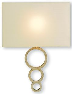 Pembroke Wall Sconce | Currey and Company, 16 h 4 d 12 w 1 13 w bulb, wrought iron with silver finish