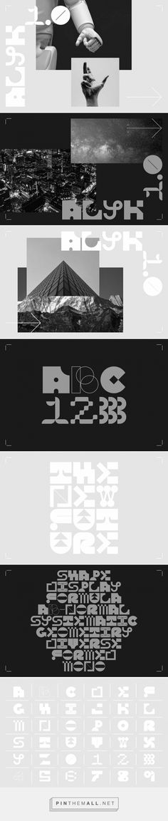 Alyk 1.0 is a free display typeface based on my submission for the 2020 edition of 36 Days of Type. It includes all the characters created for this years edition, as well as a small punctuation set to enhance it's usability. Each character is unique, but they are all created using the same 6x6 grid. In the future and as further editions of 36 Days of Type are completed, there will be further releases of alternate characters.