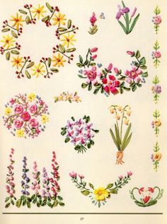 Gallery.ru / Фото #7 - 6 - OlgaHS...embroidery patterns and instructions in English!