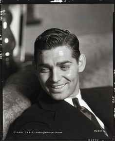 Clark Gable - Clarence Sinclair Bull                                                                                                                                                                                 More