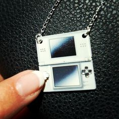 Nintendo DS necklace!