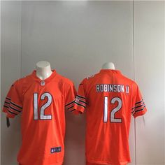 Nike  Bears  12 Allen  Robinson II Orange Vapor Untouchable Limited  Jersey  http 057512655