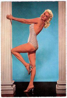 Jayne Mansfield.  Lean back.