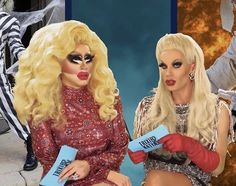 The Trixie and Katya Show Drag Queens, Brian Firkus, Katya Zamolodchikova, Trixie And Katya, Gonna Love You, Match Making, Matching Pfp, Rupaul, Reality Tv