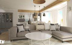 Living room w skandynawskim stylu. - Salon, styl skandynawski - zdjęcie od TIKA Architektura wnętrz i krajobrazu