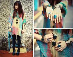 Fashionista EMPRESA: Inspiración Fashion-Inspirado del arco iris