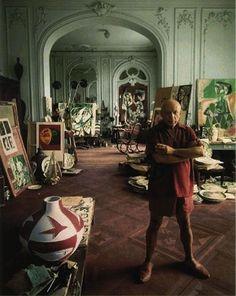 artist Pablo Picasso's studio.
