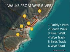 Walks in Wye River and Separation Creek