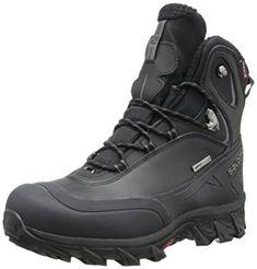 Details about Salomon Men's Size 10 Nytro GTX Climatherm HD Black Winter Boots Very Nice