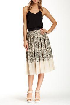 Embroidered Skirt Sponsored by Nordstrom Rack.