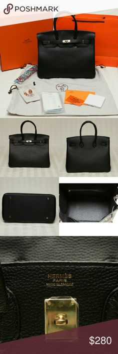 Hermes Birkin 30 Shoulder bag Never used, perfect condition. Comes with everything in the pics (shopping bag, box,dust bag,rain protection kit,authenticity card and strap).   Price reflects everything so please use common sense judgement. Hermes Bags Shoulder Bags