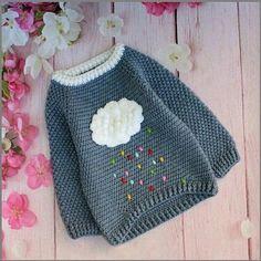 31 Ideas For Knitting Baby Girl Sweater Children Knitting Baby Girl, Baby Girl Crochet, Crochet Baby Clothes, Knitting For Kids, Cute Crochet, Baby Knitting Patterns, Crochet For Kids, Knit Crochet, Start Knitting