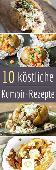 Kennst du schon Kumpir? So werden Kartoffeln in der Türkei genossen! Das Innere wird mit einer Gabel aufgelockert und mit Käse und Butter vermengt - soo lecker! Obendrauf gibt's dann noch ein üppiges Topping. Hört sich lecker an? Die besten Rezepte gibt's hier!