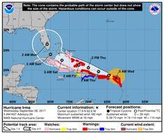 Irma aumentó su velocidad de traslación mientras avanza hacia Puerto Rico
