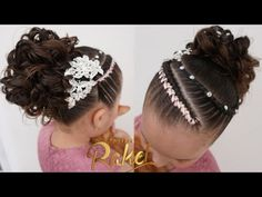 Lil Girl Hairstyles, Easy Hairstyles, Front Hair Styles, Afro, Hair Cuts, Kids, Youtube, Fashion, Childrens Hairstyles