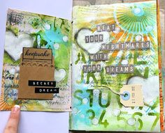 art journaling by elliam