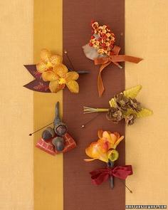 boutonniere... Cute fall ideas