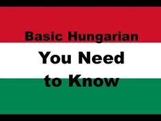 Httplearnhungarianfast how to say hello in hungarian learn hungarian hungarian in three minutes greetings youtube m4hsunfo