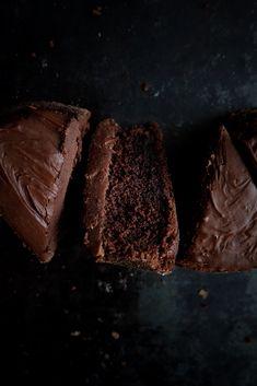 Brownie au chocolat et ganache à la bière – Élo dans la Farine
