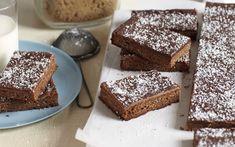 Chewy chocolate slice recipe - goodtoknow