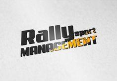 Création de logo pour Rally Sport Management par le studio graphique et agence web Egooroocrea.