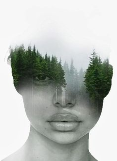 Images Of Nature Merged Into Otherworldy Portraits By Antonio Mora